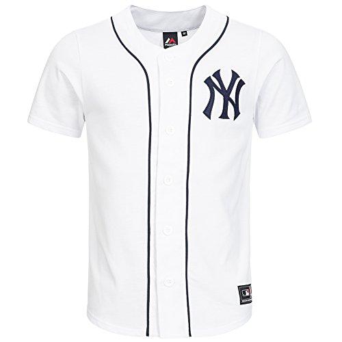 Majestic -  T-shirt - Maniche corte - Uomo bianco Small