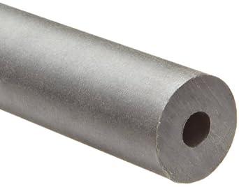 Gray Nylatron GS Nylon Round Tubing