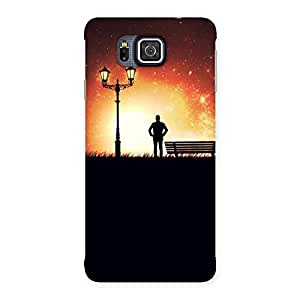 Gorgeous Evening Multicolor Back Case Cover for Galaxy Alpha