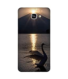 Flapping Swan Samsung Galaxy A9 Case