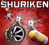 Shuriken composite cigar cutter