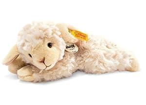 Steiff 280030 - Linda Lamm wollweiss liegend