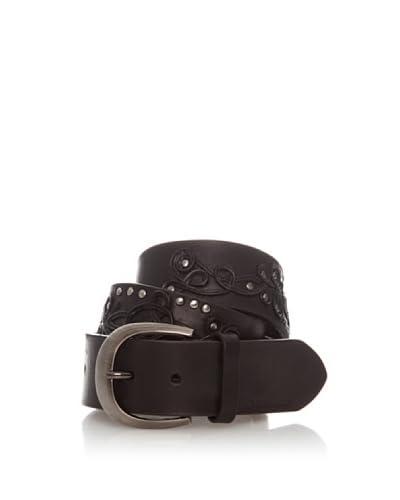 Hugo Boss Cinturón Garbie Negro