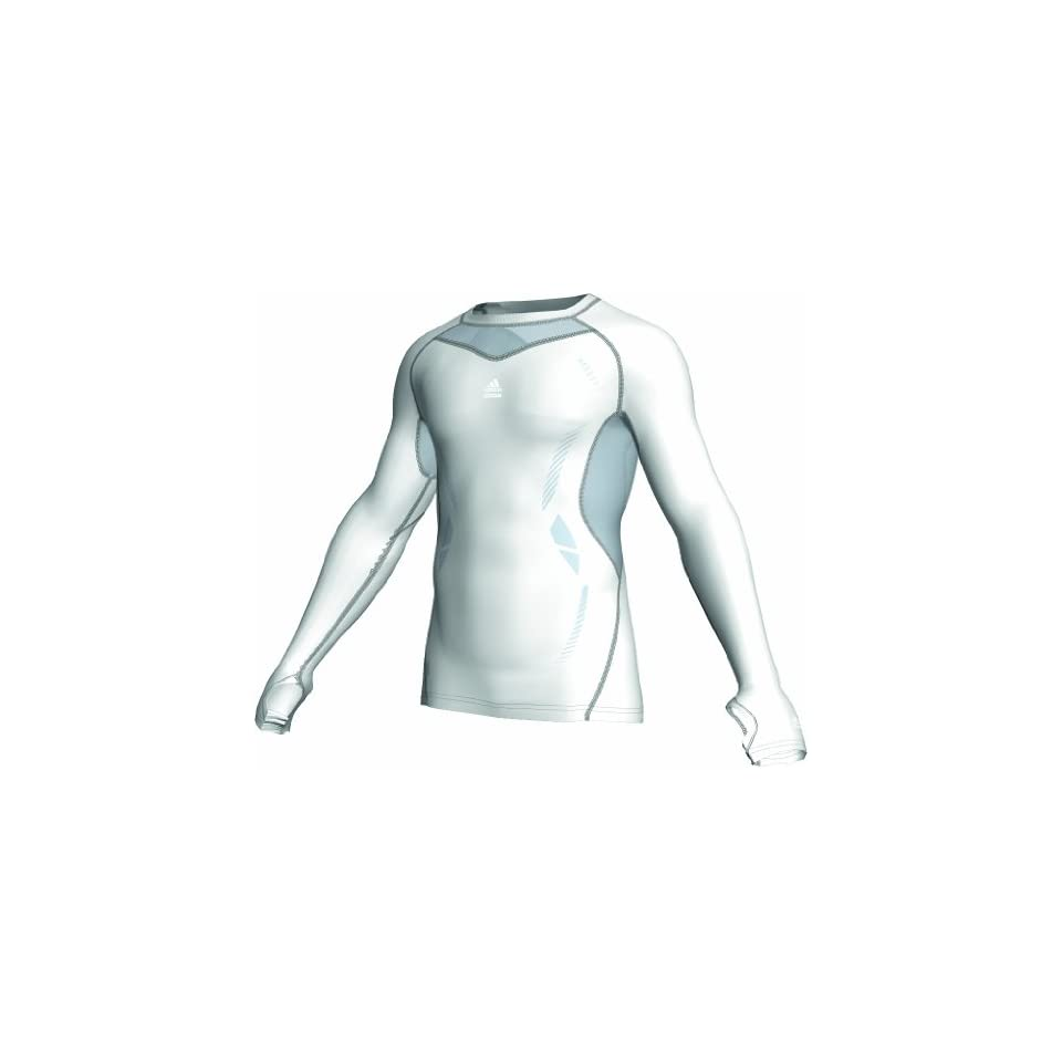 aeb6dccd0e889 Adidas TechFit Preparation Long Sleeve Compression Top XX Large on ...