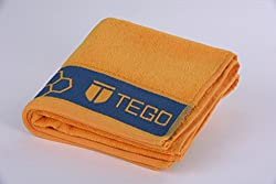 TEGO Antimicrobial Sports Towel - Flash Orange Blue