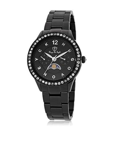 Hugo von Eyck Reloj de cuarzo Woman Lacertae Negro 37 mm