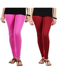 Jbk Arts Women Cotton Lycra Premium Leggings - B072LPZXZ2