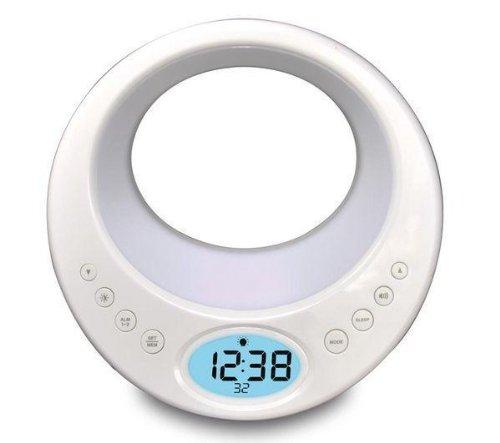 radiowecker mit licht wt489 wei radio portables. Black Bedroom Furniture Sets. Home Design Ideas