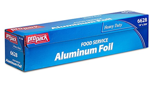 Propack Heavy Duty Food Service Aluminim Foil Roll 18'' Width x 500' Length (Freezer Paer compare prices)