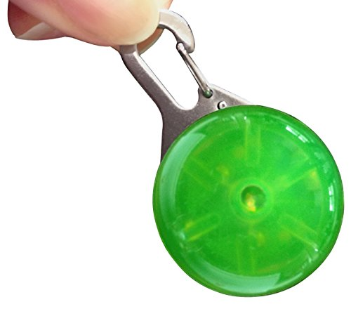 Be Spotted! LED Clip On Light - Green