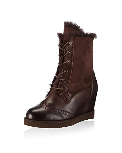 Australia Luxe Co Botas de invierno Brogue Wedge