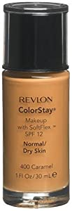 Revlon ColorStay Makeup with SoftFlex, Normal/Dry Skin, Caramel 400, 1 Ounce (Pack of 2)