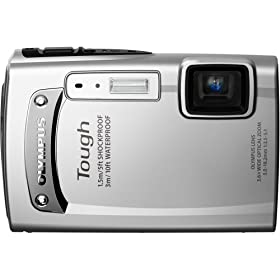 Olympus 228065 TG-310 Digital Camera (Silver)