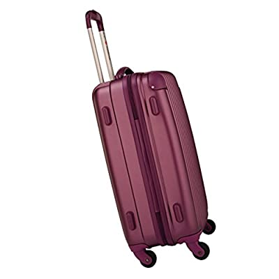 Hard Shell Polypropylene Lightweight Trolley Suitcase Luggage Large Suitcase set Trolley Bag Case Purple