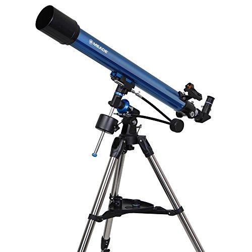 MEADE 天体望遠鏡 EQM-70 屈折式 アクロマート 口径70mm 焦点距離900mm ブルー 997071