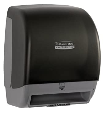 Kimberly-Clark Professional 09803 Smoke Touchless Electronic Roll Towel Dispenser