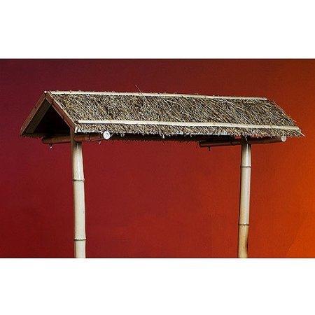 Sturdy-and-Durable-Bamboo-and-Raffia-Tiki-Bar