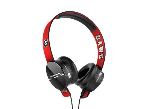 SOL REPUBLIC Collegiate Tracks Headphones (Georgia Bulldogs)