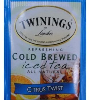 Twinings Of London Cold Brewed Iced Tea Citrus Twist (Pack Of 100)