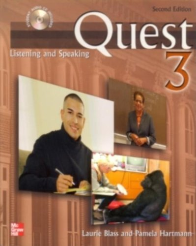 Quest 3 Listening and Speaking Student Book with Audio...