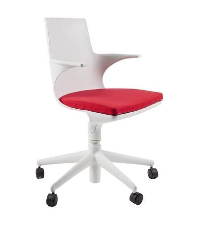 Stilnovo The Hugg Office Chair, Red
