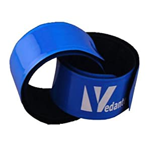 Vedante Pop Band Reflektor-Schnappband blau 30cm