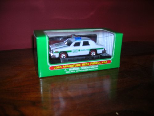 Hess 2003 Miniature Patrol Car-A Miniature 1993 Hess Patrol Car