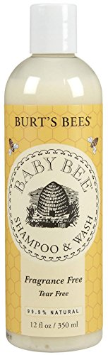 Burt's Bees Baby Bee Shampoo and Body Wash - Fragrance Free - 12 oz