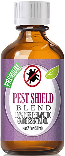 Pest Shield Essential Oil Blend 100% Pure, Best Therapeutic Grade - 60ml - Comparable to DoTerra's TerraShield Essential Oil Blend