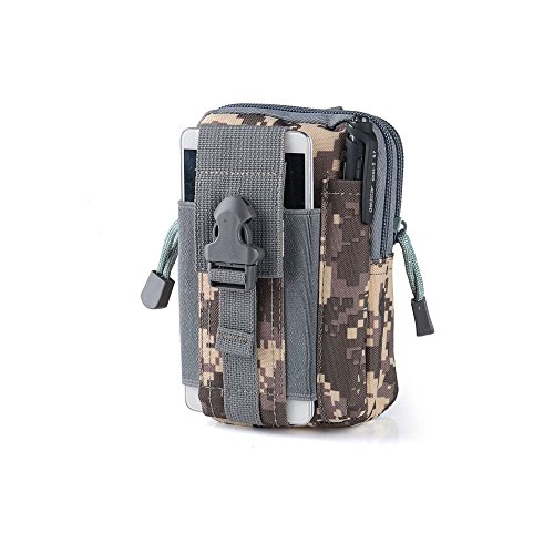 Wasserdichte 1000D Nylon Camouflage Tactical MOLLE Universal-Multifunktions -große Kapazitäts-Outdoor-Camping-Wandern praktische Gerät Beutel (Farbe 3)