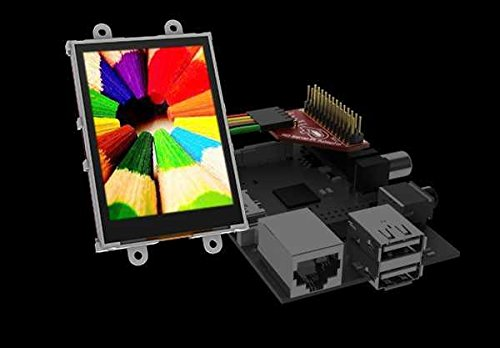 """2.8"""" Lcd Display With Adaptor For Raspberry Pi"""