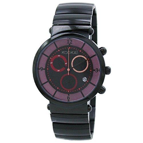 Kookai SPE1623-0002 - Orologio da polso da donna, cinturino in acciaio inox colore nero