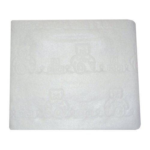 American Baby Company Waterproof Porta-Crib Sheeting Pad, White, 2 Count