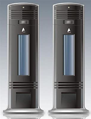 (2) Electrostatic Ionic Air Purifier Pro with Ionizer Cleaner with Uv Model 9088