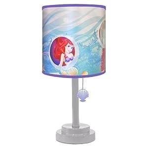 Amazon.com: Disney Princess Ariel Table Lamp: Toys & Games