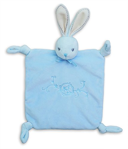 Kaloo Perle Coniglio doudou knots azzurro