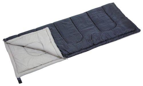 キャプテンスタッグ 寝袋 シュラフ フォルノ封筒型シュラフ800 ダークネイビー [最低使用温度12度] M-3473