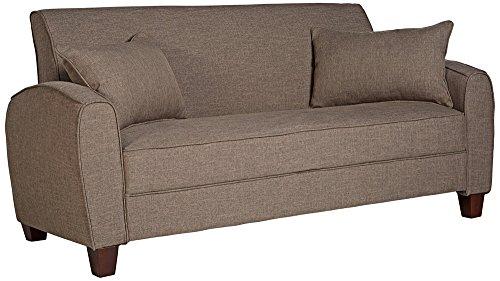 angelo:HOME Tawny Brown Sofa