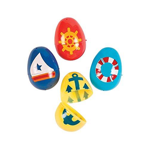 Nautical Easter Eggs - 12 ct