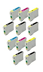 11 Cartridges - T200XL Epson Expression Home XP, WorkForce WF Compatible Ink Cartridges
