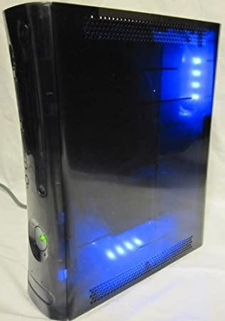 Custom Smoked (Color) Xbox 360 Console with Dual Blue Leds