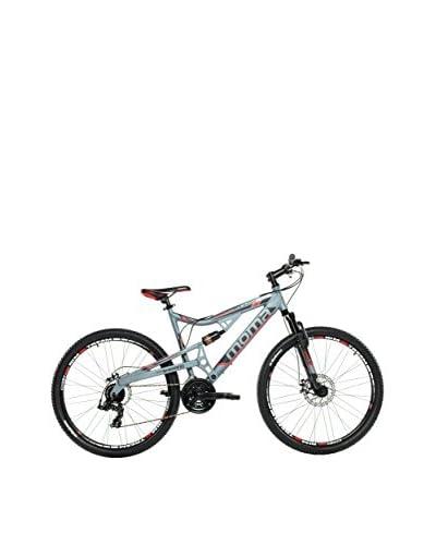 MOMA BIKES Bicicletta Btt 27.5 Alu Full Susp. Full Disc 24V Equinox M-L Grafite