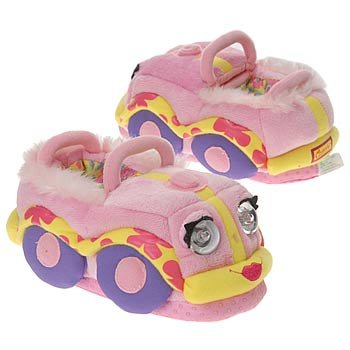 Cheap Bedtime Safari Kids' Bedtime Story Slippers (Pink L OT) (B000JLADZM)