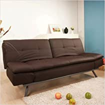 Hot Sale Abbyson Living Quatro Leather Convertible Sofa