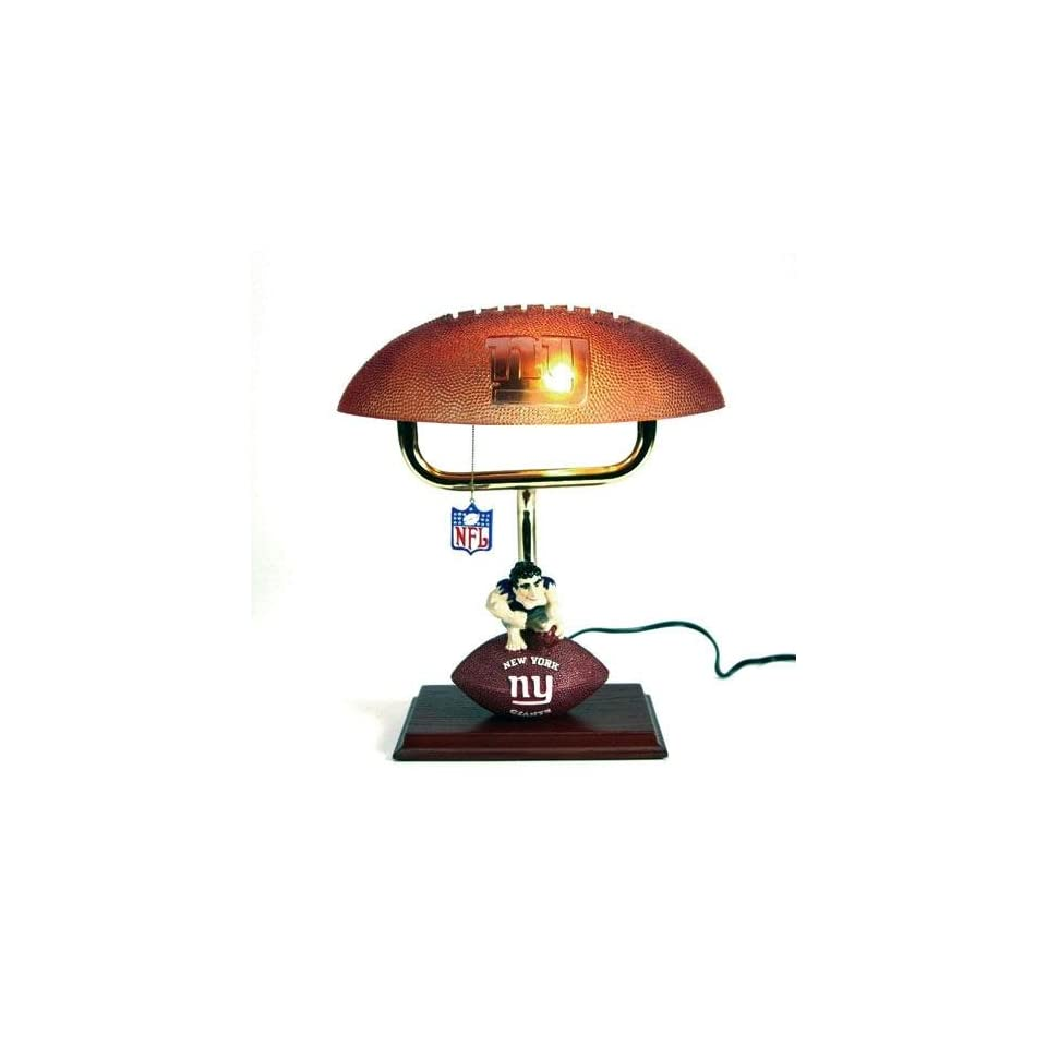 New York Giants NFL Mascot Desk Lamp w/ Football Shade (14)