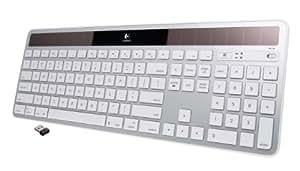 Logitech Wireless Solar Keyboard K750 for Mac - Silver
