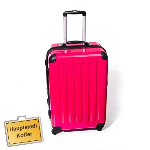 Hartschalen Koffer Magenta Hochglanz max.87 L