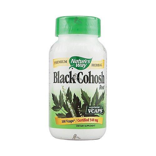 Nature'S Way - Black Cohosh Root 540 Mg. - 100 Vegetarian Capsules