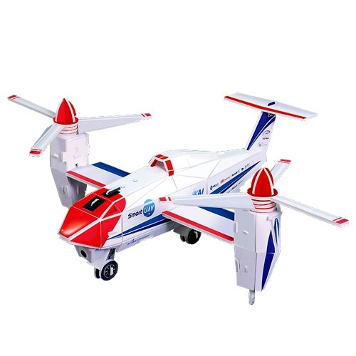 Jigsaw 3D Puzzle Transportation Series - Smart UAV - 1