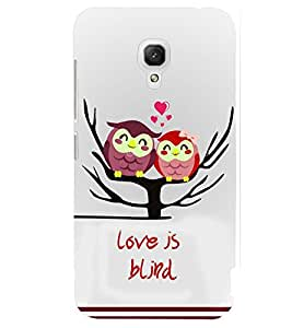 printtech Love Is Blind Back Case Cover for Xiaomi Redmi 2A